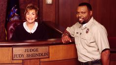 Judge Judy and Officer Bird.