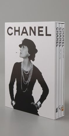 Chanel 3-book coffee table set (Chanel. Chanel Fine Jewelry. Chanel Perfume.) By Francois Baudot.