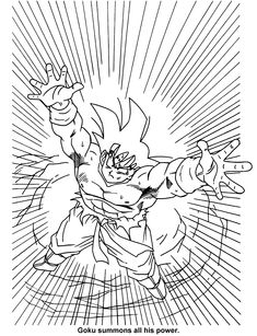 Spin A Journey To Become Better Self Dragon Ball Z Coloring Pages