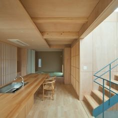 House S is a minimalist house located in Fukuoka, Japan, designed by MOVEDESIGN.