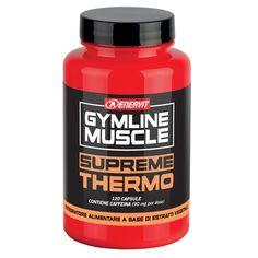 Dettagli su  ENERVIT GYMLINE SUPREME THERMO 120 CPS