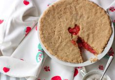 26. Strawberry rhubarb pie | Community Post: 49 Vegan & Gluten Free Recipes For Baking In October