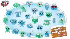 Moshi Monsters Winter Wonderland Series 2 Figures 5 Pack Toy Review, Vivid - http://www.princeoftoys.visiblehorizon.org/moshi-monsters-winter-wonderland-series-2-figures-5-pack-toy-review-vivid/