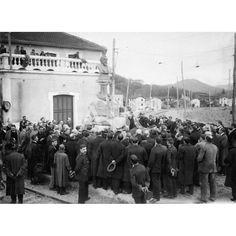 12/1912 UNA INAUGURACIÓN Y UN HOMENAJE. MOMENTO DE SER DESCUBIERTA EN LOYOLA LA ESTATUA DE D. PLÁCIDO ALLENDE EL DÍA DE LA INAUGURACIÓN DEL FERROCARRIL ELÉCTRICO DE SAN SEBASTIAN A LA FRONTERA, DEBIDO A SU INICIATIVA: Descarga y compra fotografías históricas en | abcfoto.abc.es