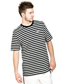 Nike T-shirt  (White/Black) - Smartguy.no - $190nok