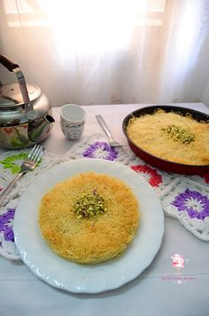 Dapur Comel Selma: Kunafah - künefe - كنافة