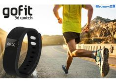 EnerZ Gofit Pro Smart Fitness Band Lowest Price at Rs 999 Only - Best Online Offer