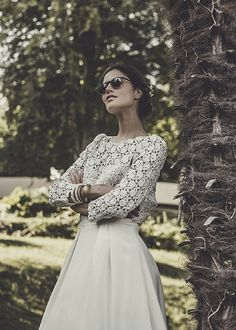 Laure de Sagazan 2015 Collection | Wedding Dress