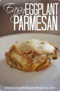 Easy Eggplant Parmesan--step by step tutorial shows you exactly what to do (plus the secret to perfect eggplant texture & flavor!)! #eggplant #vegetarian #recipe