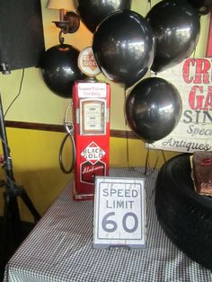 Vintage Cars, 60th, Surprise Birthday Party Ideas | Photo 2 of 8 | Catch My Party
