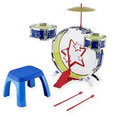 Bruin Big Beats Drum Set with Stool