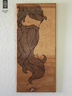 Wood Works I: Illustrations by Clint Reid - Faith is Torment