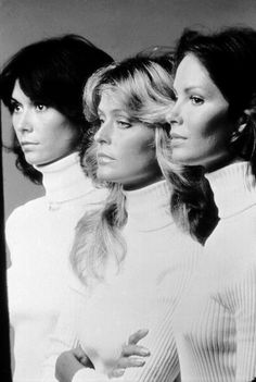 Charlie's Angels (1977) I've always wanted a family photo with us all in turtlenecks!