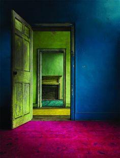 color inspiration, room, hot pink