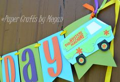 Its time for a celebration and this Happy Birthday Scooby-Doo banner is sure to add fun to any party! 6th Birthday Parties, 3rd Birthday, Birthday Ideas, Scooby Doo Halloween, Halloween 2019, Birthday Scrapbook, Bday Girl, Happy Birthday Banners, First Birthdays