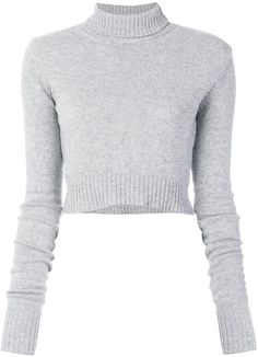 1d9cd766277 Miss Selfridge White Ruched Sleeve Crop Sweatshirt ($49) ❤ liked on Polyvore  featuring tops, hoodies, sweatshirts, sweaters, shirts, sweats…