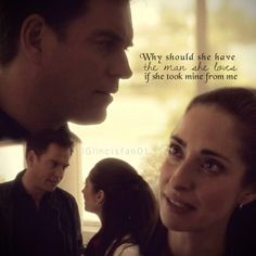 """this is so sad...but It was a moment so sream """"Ziva and Tony are in lover with each other!!!"""""""
