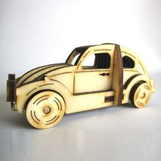 Build your own wooden beetle car.