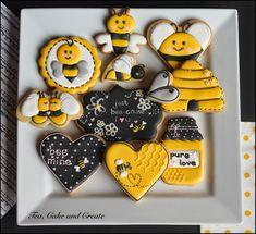Tea, Cake & Create: Love Bee Cookies