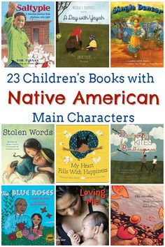 23 Native American Books for Kids - Feminist Books for Kids Native American Children's Books<br> Learn more about the experience of indigenous people with these Native American books for kids, written by Native American authors. Native American Children, Native American Pictures, American Indians, Native American Literature, American Symbols, American Women, American Art, American History, Best Children Books