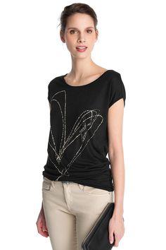 Artwork viscoseshirt COLLECTION - Esprit Online-Shop
