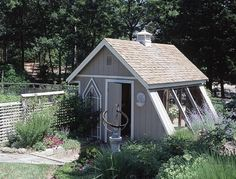 convert a shed into a greenhouse - Google Search