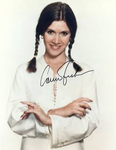 Carrie Fisher Autograph