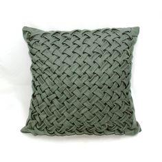 Poduszka dekoracyjna zielona