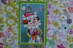 Deck of Clown Cards Vintage. New In Package. by smileitsvintage, $6.00
