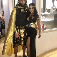 Egyptian couple ❤️✨ - Egyptian couple ❤️✨ Source by jeanihckl - Scary Couples Halloween Costumes, Cute Costumes, Halloween Cosplay, Halloween Outfits, Costumes For Couples, Mummy Costumes, Teen Costumes, Woman Costumes, Pirate Costumes
