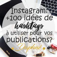 Au moment de publier une nouvelle photo sur Instagram, on a tous déjà eu un doute sur quelshashtags utilisés pour légender la photo. Généralement, c'est la partie qui me prend le plus le temps lors de mes publications sur Instagram. Je vous avais expliqué dans un article précédent l'importance d' Instagram pour votre business! Aujourd'hui, j'ai décidé de vous faire une sélection des hashtags les plus populaires pour renforcer la portée et l'engagement de vos publications. Hashtags…