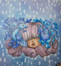Manga Coloring Book, Coloring Books, Manga Mermaid, Pop Pop, Camilla, Mermaids, Creepy, Horses, Box