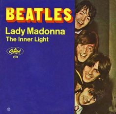 Beatles Lady Madonna - 45 rpm Record Sleeve.