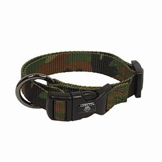 Hamilton Adjustable Nylon Dog Collar in Camouflage Print Large 1626 L X 1 W ** For more information, visit image link.Note:It is affiliate link to Amazon.