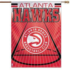 "Atlanta Hawks WinCraft 27"" x 37"" Vertical Banner - - $24.99"