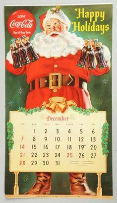 Coke Calendars | 795: 1959 Coca-Cola Calendar. : Lot 795