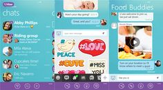 Viber VoIP messaging client to upgrade Windows Phone 8 devices   The Viber team today released an update to the popular messaging and VoIP client for Windows Phone 8 devices, which have been downloaded from the Windows Phone Store - 4.4.0.0. This new update now includes the ability to block any number of new smileys, emoticons, indicating a new message in the conversation resumes, and so on.