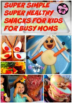 14 Healthy Snacks for Your Fit Kids to Make & Eat www.kiana.com