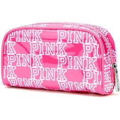 Designer Clothes, Shoes & Bags for Women Pink Makeup Bag, Cute Makeup Bags, Small Makeup Bag, Makeup Pouch, Victoria Secret Bedding, Victoria Secret Outfits, Victoria Secrets, Cute Backpacks For School, Cute Pencil Case