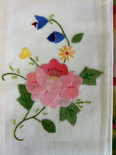 Pair of Vintage Handmade Tea Towels or Hand Linens by Nostalgicats, $6.00