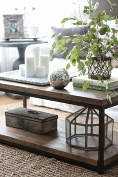 decor ideas coffee table