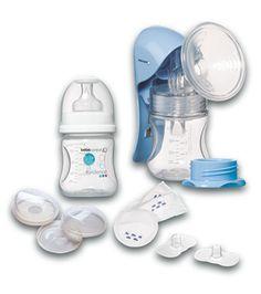 O kit de amamentação da Bébé Confort Maternity contém tudo o que necessita para iniciar a amamentação com confiança. Incluí: • Um tira-leite manual • Um biberão de 140 ml polipropileno • Uma tampa para boiões de conservação • Um adaptador de gargalo estreito • Quatro almofadinhas descartáveis • Duas conchas recolhe-leite • Dois bicos de silicone