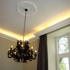 UK's largest range of LED coving, uplighting coving, cornice lighting, & ceiling moulding designs. Easy to install & UK wide delivery. Interior Design Dubai, Interior Design Website, Cove Lighting, Indirect Lighting, Modern Lighting Design, Contemporary Interior Design, Led Rope Lights, Ceiling Lights, Wall Lights