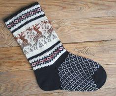 Knit Mittens, Knitting Socks, Baby Knitting, Craft Patterns, Knitting Patterns, Christmas Stockings, Knit Crochet, Etsy, Knitting