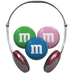 M&M's Kid Safe Headphones
