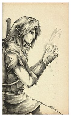 Link and Navi by EternaLegend on deviantART | The Legend of Zelda: Ocarina of Time, Link and Navi