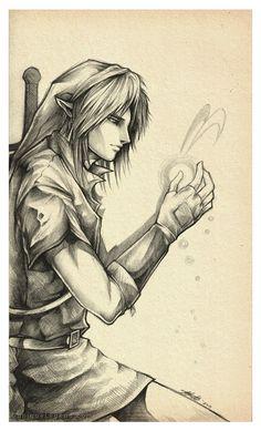 Link and Navi by EternaLegend on deviantART   The Legend of Zelda: Ocarina of Time, Link and Navi