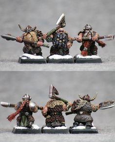 Norse Dwarf Warriors