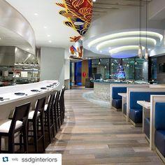 #Repost @ssdginteriors  Miku Restaurant in Vancouver. Interior design by SSDG Interiors Inc. Photography by @emaphotographi #interiordesign #interiorarchitecture #japaneserestaurant #aburi #beautiful #coolrestaurant #awesome #sushi #vancouver #japanese #yvr #vancity #design #restaurantdesign #sakebar #food #yum #art #bar #kitchen #cool #beautiful by ssteeves87