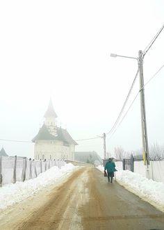 Hadambu Monastery #church #monastery #winter #travel #explore #visitromania